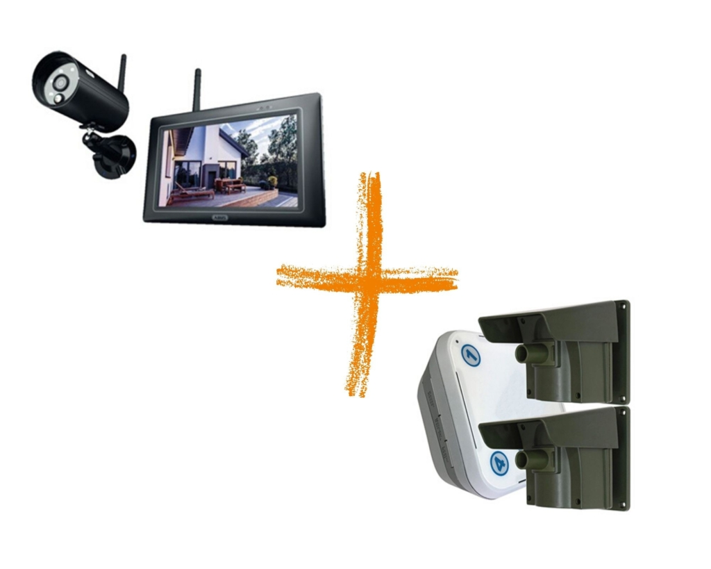 opritverklikker met camera